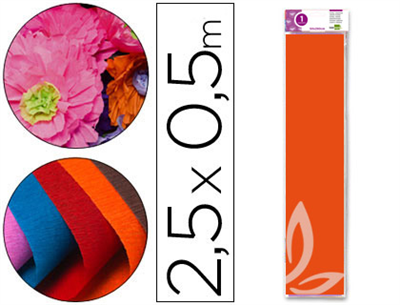 Papel pinocho color naranja (Cod.24282)